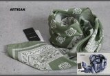 アルチザン イタリア製シルクコットンスカーフ/ARTISAN