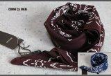 コムサメン日本製シルクコットンスカーフ/絹/綿/メンズ/COMME CA MEN