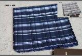 コムサメン日本製シルク100%チェックハンカチ/ポケットチーフ/COMME CA MEN