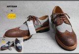 アルチザン ビブラムソール ブローグ革靴/ARTISAN