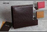 コムサメン シボ型押し本革二つ折り財布/レザー/COMME CA MEN