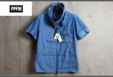 PPFMレイヤードネックジップ半袖シャツ/ペイトンプレイス