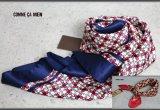 コムサメン日本製花柄シルクスカーフ/メンズ/COMME CA MEN
