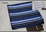 コムサメン日本製シルク100%ストライプハンカチ/ポケットチーフ/COMME CA MEN