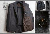 コムサイズムBG最高級YUNSA生地クラシックモデル ウールツイード スーツ/COMME CA ISM/ビージー/ボナジョルナータ