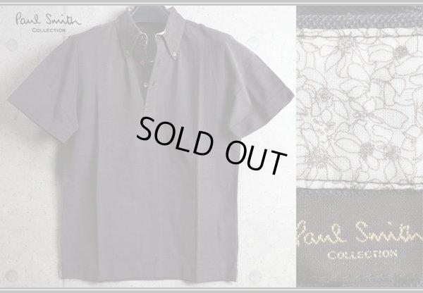 画像1: ポールスミスコレクション最高級 鹿の子 ボタンダウン半袖ポロシャツ/Paul smith COLLECTION