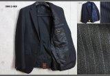 コムサメンAdvanced Mode SUPER100sシャドーピンストライプ ウール スーツ/COMME CA MEN