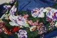 画像5: アルチザン刺繍ビーズ ウール シルク ストール/絹/スカーフ/スカーフ/ARTISAN