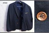 アルチザン 春夏 日本製 ウール リネン ジャージー ジャケット/ARTISAN MEN