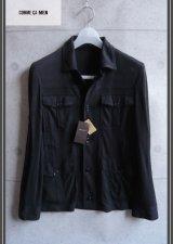 コムサメンの高級シャツジャケット