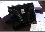 ポールスミスウィメンのパテントレザー二つ折り財布