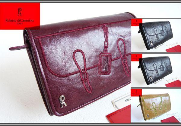 on sale 209ab f3259 ロベルタディカメリーノだまし絵二つ折り財布