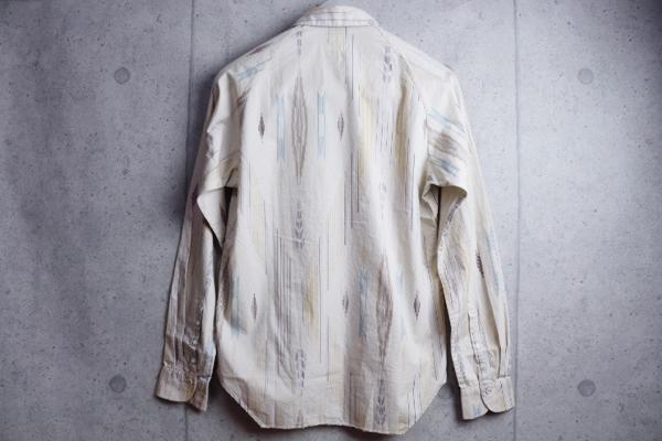 画像3: ポールスミスレッドイヤーREDEARラグランスリーブ柄シャツ