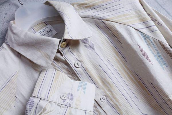 画像2: ポールスミスレッドイヤーREDEARラグランスリーブ柄シャツ