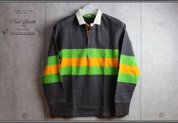 画像1: ポールスミス レッドイヤーREDEAR長袖ラガーシャツ