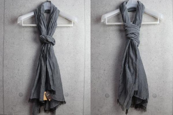 画像5: コムサメン上質綿絹大判ストール/COMME CA MEN
