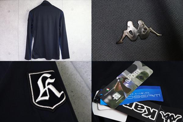 画像4: カッパゴルフイタリア/高機能長袖インナーカットソー/Kappa GOLF