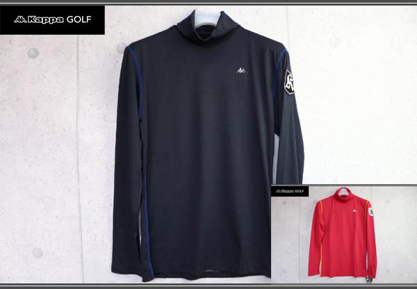 画像1: カッパゴルフイタリア/高機能長袖インナーカットソー/Kappa GOLF