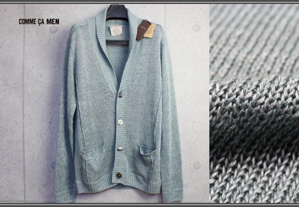 画像3: コムサメン上質フランダースリネンニットジャケット/COMME CA MEN
