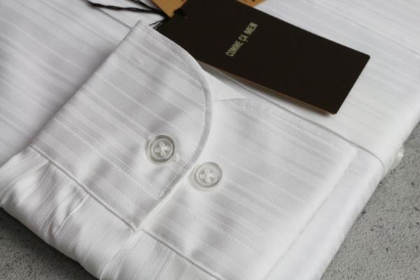画像3: コムサメン新作ストライプ長袖ドレスシャツ/ワイド/COMME CA MEN