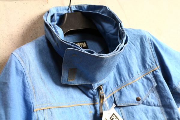 画像2: PPFMレイヤードネックジップ半袖シャツ/ペイトンプレイス