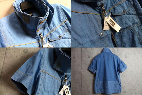画像3: PPFMレイヤードネックジップ半袖シャツ/ペイトンプレイス