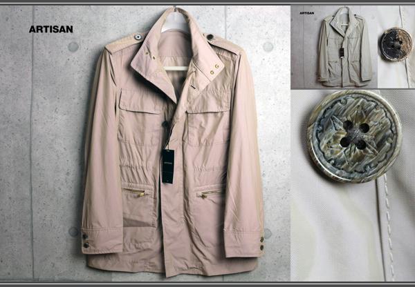 画像1: アルチザンM65高級ナイロンジャケットコート/ARTISAN