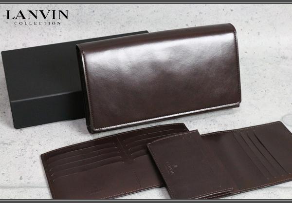 画像1: ランバンコレクション多収納レザー長財布/LANVIN COLLECTION