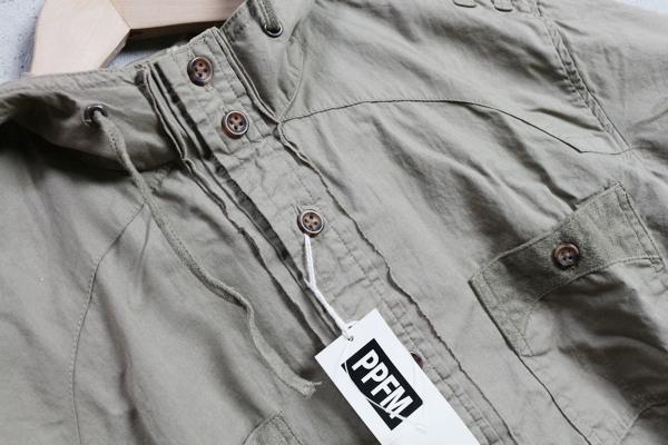 画像2: PPFMペイトンプレイス/ミリタリー半袖パーカーシャツ