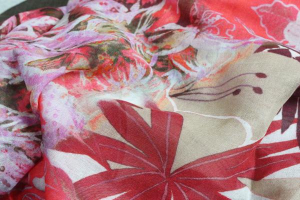 画像3: アルチザン イタリア製シルク混レーヨンストール/ARTISAN
