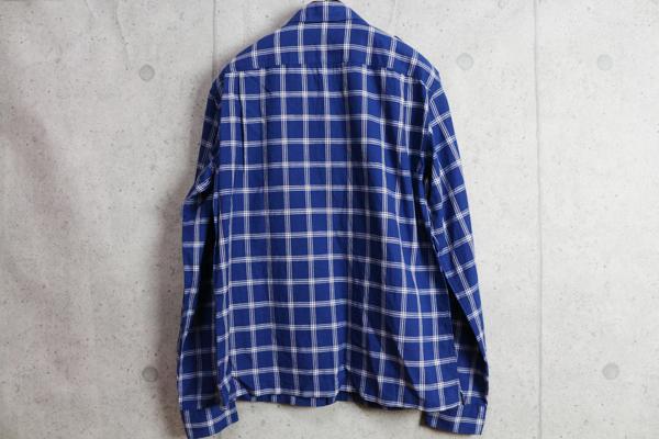 画像3: コムサメン リネンコットンチェック柄シャツジャケット/COMME CA MEN