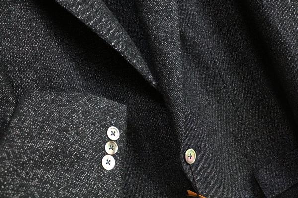画像2: コムサメン春夏 リネンコットン ツイード ジャケット/COMME CA MEN