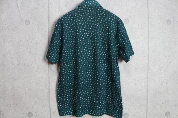画像3: コムサメン最高級リバティ生地使用リネン コットン ポロシャツ/Liberty/COMME CA MEN