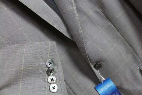 画像2: ランバン オン ブルー春夏 天然高機能素材スポエリー アイスコットン ウインドペン ジャケット/LANVIN en Bleu