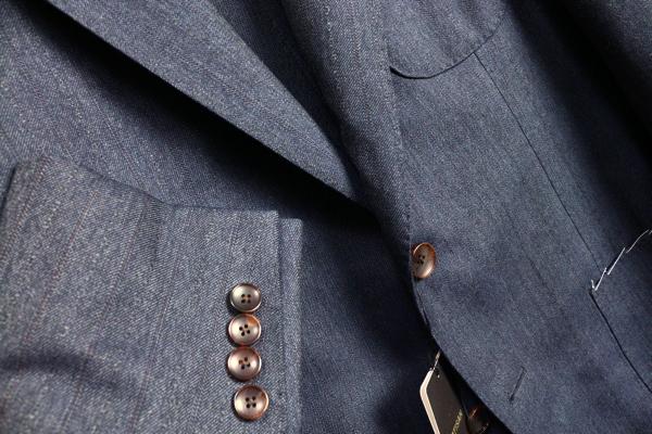画像2: アルチザン プラチナライン最高級 織り柄シャドーストライプ スーツ/ARTISAN