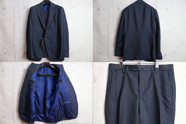 画像3: アルチザン プラチナライン最高級 織り柄シャドーストライプ スーツ/ARTISAN