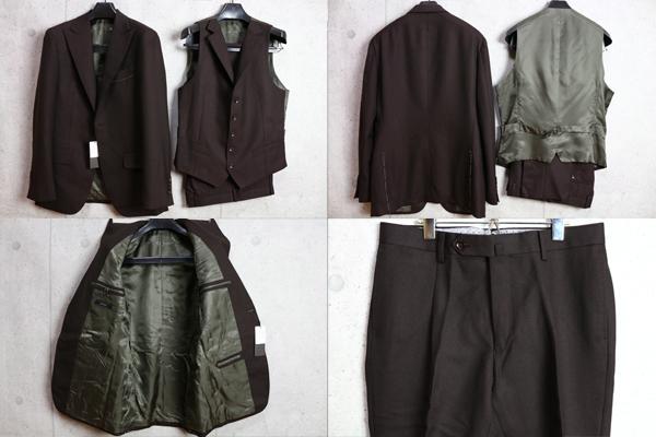 画像3: アルチザン秋冬ウール スリーピース スーツ/ARTISAN