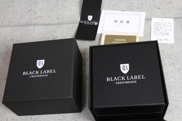 画像3: ブラックレーベル・クレストブリッジ クレストレザードレス ウォッチ/BLACK LABEL CRESTBRIDGE/時計