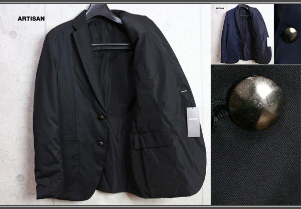 画像1: アルチザン『珠玉の逸品』中綿メタル釦リバーシブル ジャケット/コムサ/ARTISAN