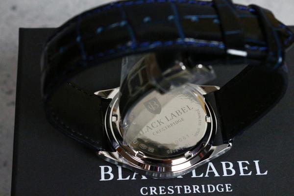 画像2: ブラックレーベル・クレストブリッジ クレストレザードレス ウォッチ/BLACK LABEL CRESTBRIDGE/時計