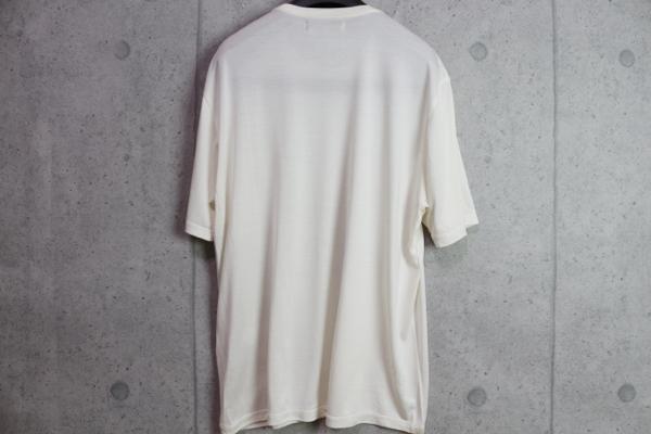 画像3: アルチザン最高級 シルク 伊藤若冲 特殊プリント 浮世絵 Tシャツ/墨鶏/和柄/ARTISAN/絹