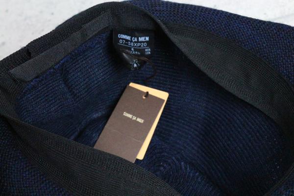 画像3: コムサメン秋冬 日本製 ウール ニット 中折れハット/COMME CA MEN