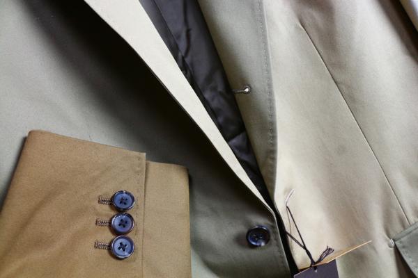 画像2: コムサメン クレイジーパターン ツイルコットン ジャケット/COMME CA MEN