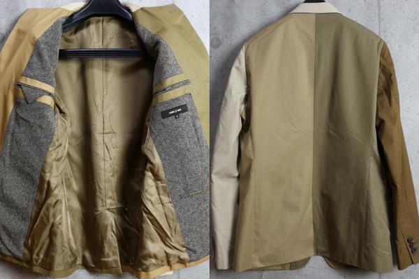 画像3: コムサメン クレイジーパターン ツイルコットン ジャケット/COMME CA MEN