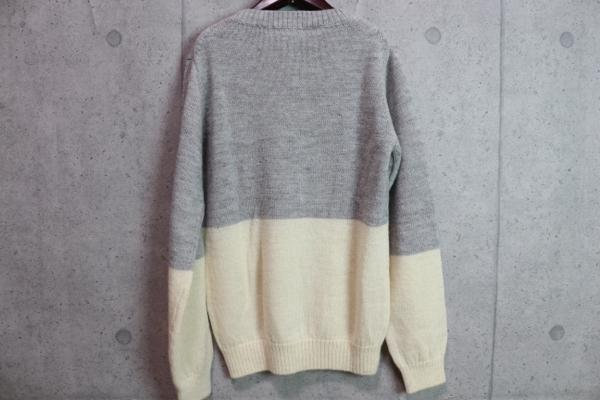 画像3: コムサメン プラチナモデル ミドルゲージ ウール100% セーター/COMME CA MEN