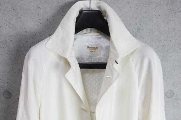 画像2: マッキントッシュ フィロソフィー 春夏 最高級リネン ハードマンズ トレンチ ステンカラー コート