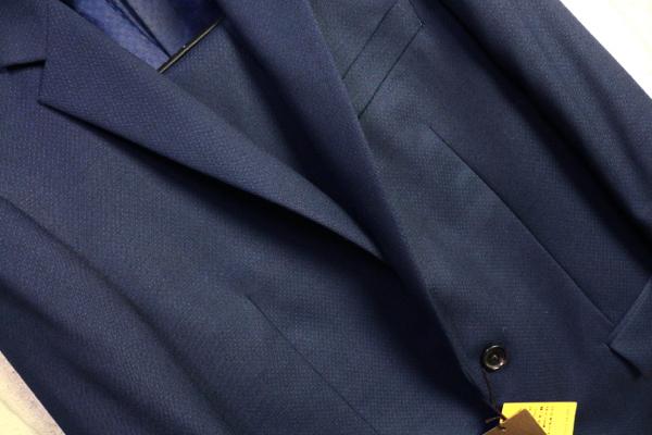 画像2: コムサメン 春夏 オーストラリア産 羊毛 SUPER100's ピンヘッド ドビー セットアップ スーツ /ジャケット/スラックス