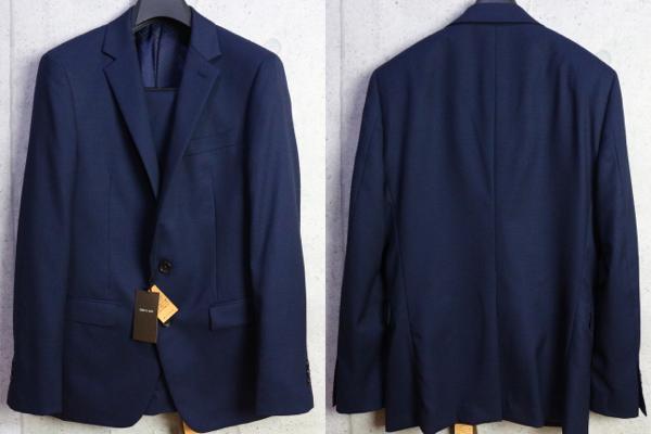 画像3: コムサメン 春夏 オーストラリア産 羊毛 SUPER100's ピンヘッド ドビー セットアップ スーツ /ジャケット/スラックス