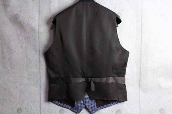 画像3: アルチザン 春夏 最高級 日本製 アイルランド ROBERT NOBLE シルク リネン ジレ/絹/麻/ベスト/ARTISAN