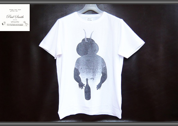 画像1: ポールスミスレッドイヤーRED EARデビルTシャツ